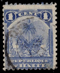 Haiti Scott 46 Used.