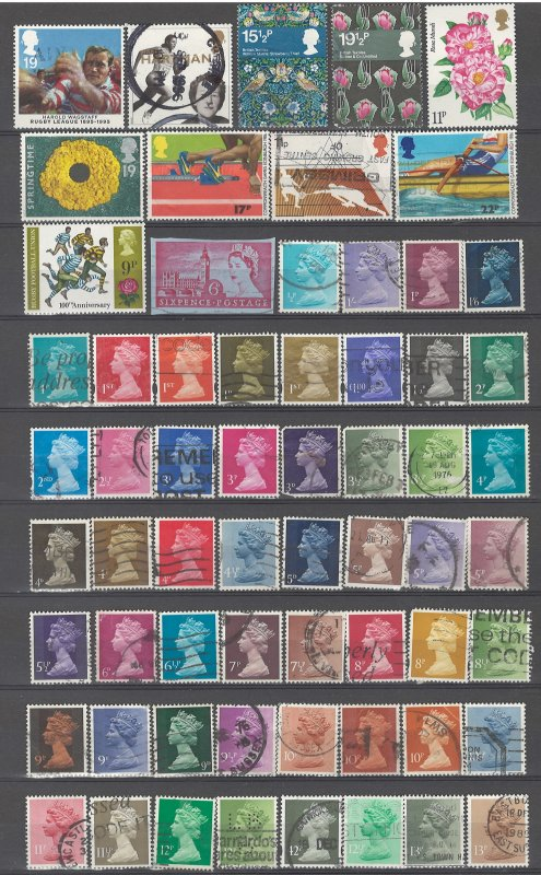 COLLECTION LOT # 52L GB 107 STAMPS CLEARANCE
