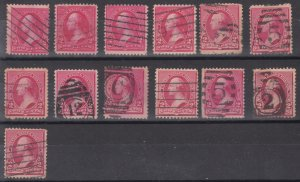 Old Used United States Stamps - Lot #MO-159