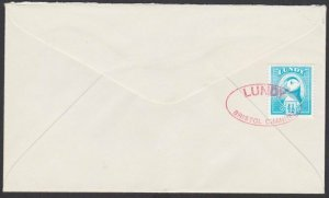 GB LUNDY 1974 cover - 4½p Puffin............................................F877