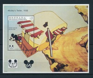 [22548] Grenada 1993 Disney 65th Birthday Mickey Mouse movie clips MNH