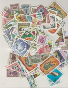 COLLECTION LOT # L10 MONGOLIA 39gr ABOUT 400 STAMPS BLOW OUT SALE