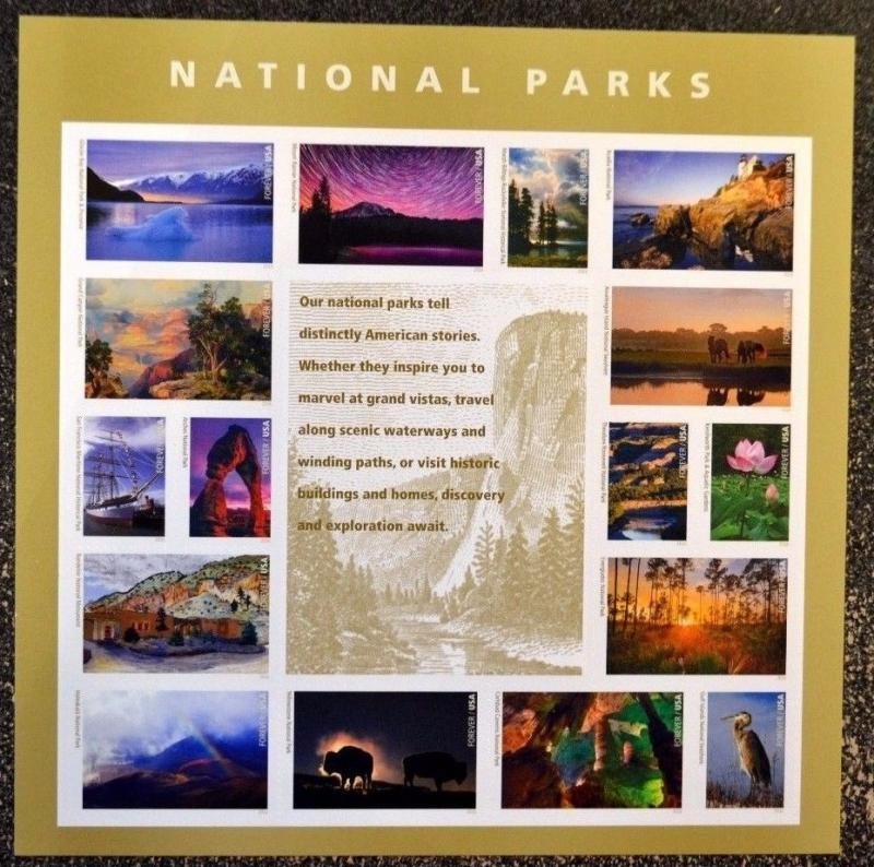 5080 National Parks Centennial Plate Position 9