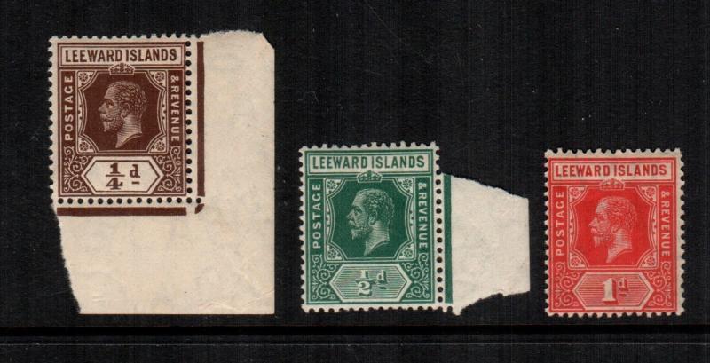 Leeward islands  46 - 48  MNH cat $ 24.00