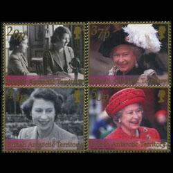 BR.ANTARCTIC TERR. 2002 - Scott# 307-10 Queen Set of 4 NH