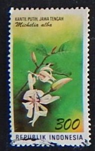 Indonesia, Flower, (№1568-Т)