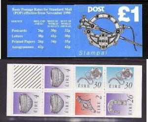 Ireland-Sc#780c-unused NH-complete booklet-1990-95-