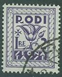 Rhodes SC# J9 Postage Due 2 Lira Used