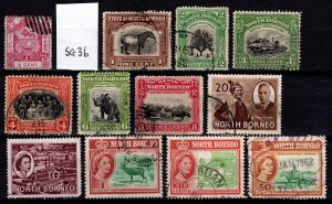 North Borneo various issues [Used]