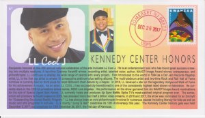 6° Cachets LL Cool J rapper 2017 Kennedy Center Honoree