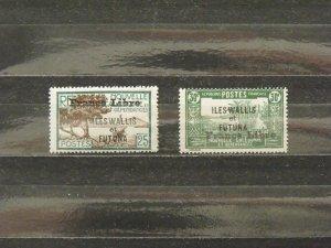 6368   Wallis Futuna   MH # 102, 103                     CV$ 12.00
