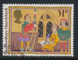 Great Britain  SG 1345 SC# 1166 Used / FU with First Day Cancel - Christmas 1986