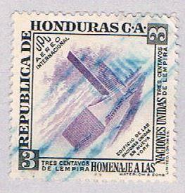 Honduras 224 Used UN building 1953 (BP3072)