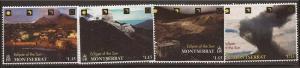 Montserrat - 1998 Solar Eclipse - 4 Stamp Set - Scott #957-60 27A-033