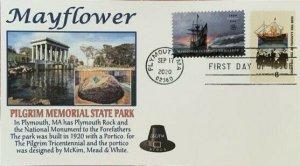 AFDCS 5524 Mayflower Plymouth Harbor Pilgrim Memorial State Park Mass Combo