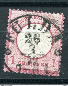 Germany 1872 Small Shield Sc 4 1 gr Used 10946
