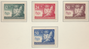 Poland, German Occupation Stamps Scott #NB8 To NB11, Mint Never Hinged - Free...