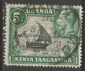 KENYA, UGANDA & TANZANIA 47 VFU P756-5