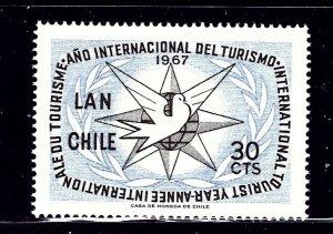 Chile C278 MNH 1967 Int'l Tourist Year    (ap1091)