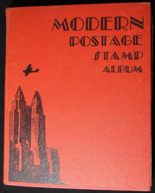 Used 1935 Scott Modern Postage Stamp Album W/OUT stamps. L10