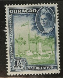 Netherlands Antilles Curacao  Scott 165 MNH* 1943 stamp