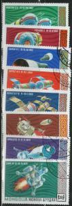 MONGOLIA CTO Scott # 602-609 Space (8 Stamps)