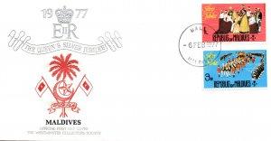 Maldive Islands 662,666 U/A FDC