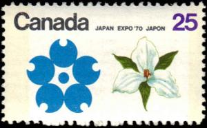 Canada #511p Tagged MNH VG
