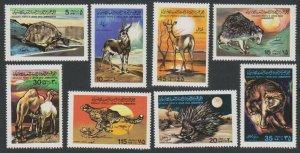 1979 Libya 704-711 Fauna 7,00 €