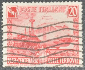 DYNAMITE Stamps: Italy Scott #410 – USED