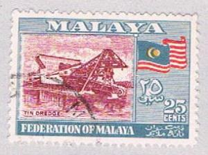 Malaya Federation 82 Used Tin dredge (BP2244)