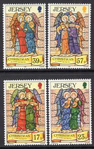 Jersey 651-654 Christmas MNH VF
