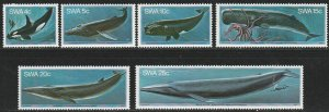 South West Africa, #437-442 Unused  from 1980