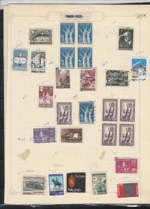 finland  stamps page ref 18073