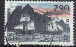 NORWAY SC# 928 *USED* 2.90k  1988  EUROPA     SEE SCAN