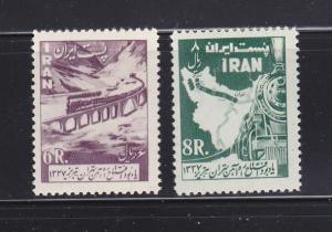 Iran 1103-1104 Set MH Trains