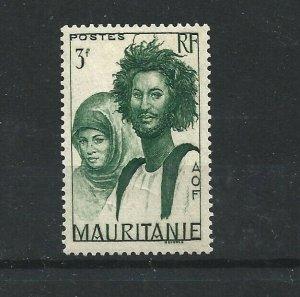 MAURITANIA  1938 - 50  3F  MYRTLE  GREEN         MH
