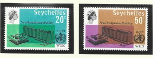 Seychelles Stamps Scott #228 To 229, Mint Hinged