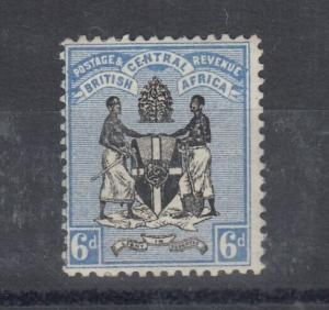 British Central Africa 1895 4d SG24 Mint MH J4898
