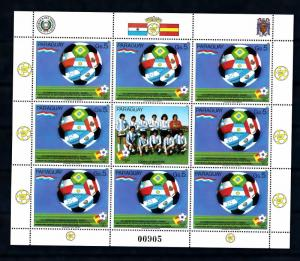 [60857] Paraguay 1982 World Cup Soccer Football Spain MNH