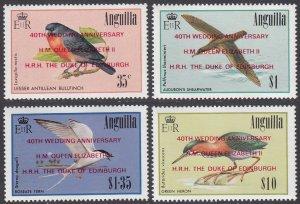 Anguilla 750-753 MNH CV $9.00