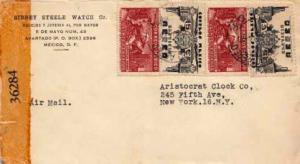 Mexico, Airmail, Censored