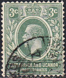 East Africa and Uganda Protectorates #41  Used