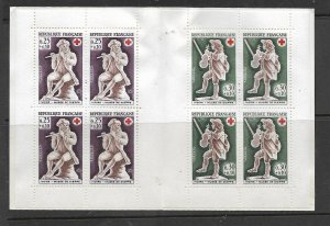 FRANCE, B409A, MNH, BOOKLET, MUSICIAN TYPE
