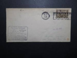 Canada 1929 London to Detriot First Flight Cover - Z11230