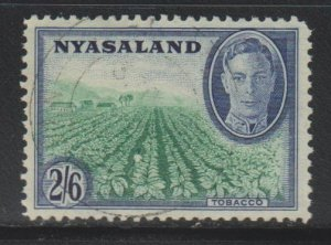 Nyasaland Protectorate, 2sh6p Tobacco Fields (SC# 78) Used