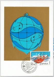 63748 - SPAIN - POSTAL HISTORY: MAXIMUM CARD 1973 -  FISHING Fish