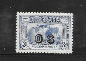 Australia O-2 * VF w/ hinge rem.