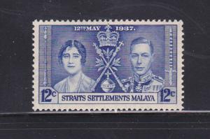 Straits Settlements 237 MMH King George VI Coronation
