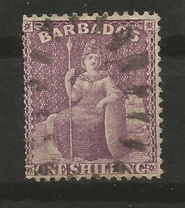Barbados Scott # 56.Used